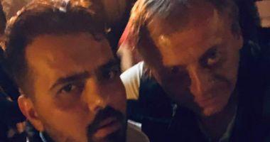 Ultimele poze cu Ilie Balaci în viață! A petrecut aseară într-un club din Craiova!