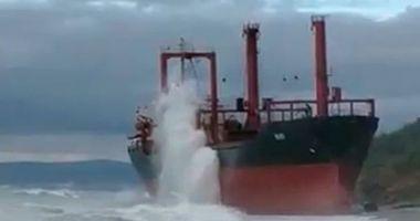 Un bulk carrier a eșuat în Marea Neagră, la Novorossiysk