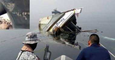 Un bulk-carrier a scufundat un vas de pescuit. Patru marinari au dispărut