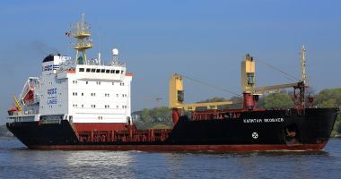 Un cargou a eșuat lângă St. Petersburg