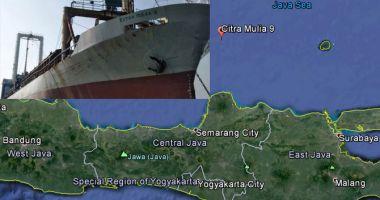 Un cargou indonezian s-a scufundat; echipajul a fost salvat