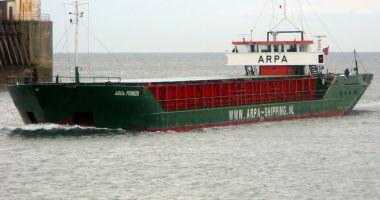Un cargou s-a răsturnat și scufundat în Marea Neagră