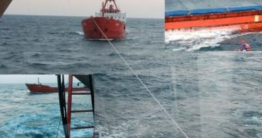 Un cargou turcesc, în pericol de scufundare