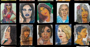 Un criminal în serie, care a ucis 90 de femei, le desenează portretele în celulă!