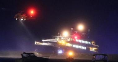 Un ferry-boat s-a lovit de cheu. Şase pasageri au fost răniţi