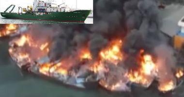 Un incendiu a distrus 35 de nave și bărci într-un port indonezian