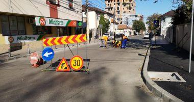 Atenție, șoferi! De azi, o nouă stradă cu sens unic, în Constanța