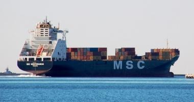 """Un marinar s-a accidentat pe nava """"MSC Mediterranean"""""""