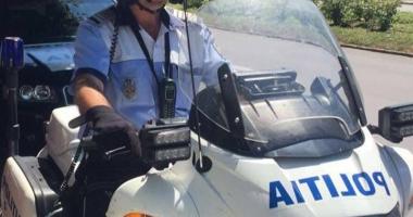 Un polițist constănțean a ajutat o femeie rănită să ajungă la spital