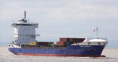 Un portcontainer a lovit digul, la Anvers