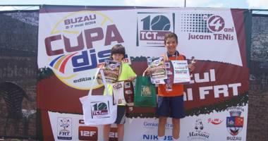 Un sportiv de la CS Știința, finalist la turneul de tenis Reduta Cup