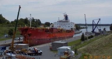 Un tanc petrolier, în black-out pe râul St. Lawrence