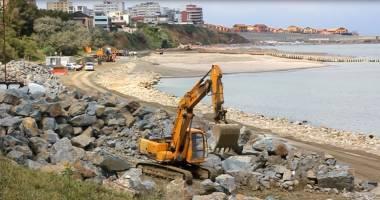 VIDEO. PLAJĂ NOUĂ LA CONSTANŢA. Iată cum a fost reamenajată plaja Tataia