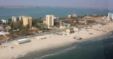 VIDEO. Cum arată staţiunea Mamaia din elicopter, la sfârşit de sezon estival