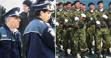 """Foto : CRESC SOLDELE POLIŢIŞTILOR ŞI MILITARILOR, de la 1 iulie: """"Au avut ghinion să nu fie reprezentaţi"""""""