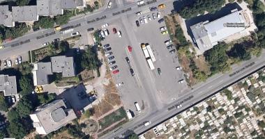 Galerie foto. ÎNCĂ UN SUPERMARKET LA CONSTANŢA! Dispare o parcare imensă de pe strada Eliberării