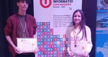 Un elev ovidist, pe locul întâi la Olimpiada Naţională de Tehnologia Informaţiei