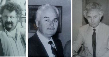 Arhiva de Aur Cuget Liber. Trei mari profesori. Amintiri cu Gheorghe Dumitraşcu, Puiu Enache şi Ioan Popişteanu