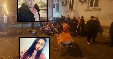 GALERIE FOTO / Cine sunt victimele accidentului mortal de pe strada Mircea cel Bătrân