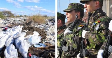 Foto : O propunere de nota 10: În loc de gunoaie, cămin pentru militari, în cartierul Baba Novac