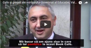 """VIDEO. Valentin Popa, ministrul desemnat al Educaţiei, """"CERTAT"""" cu LIMBA ROMÂNĂ. Replicile sale au revoltat Internetul"""