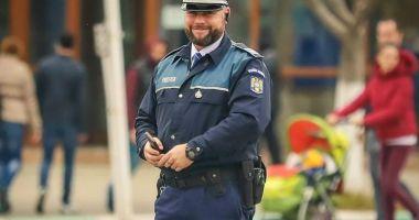 A lăsat cumpărăturile şi a fugit după un hoţ. Un poliţist din Năvodari, erou în timpul liber