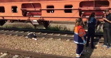 Foto : VIDEO. FEMEIE DECAPITATĂ DE TREN, ÎN GARA MEDGIDIA!