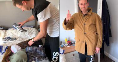 Foto : VIDEO INCREDIBIL. Metoda inedită prin care un pasager Ryanair a fentat noile reguli de bagaje