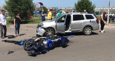 Accident rutier în Portul Tomis