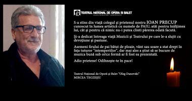 "Doliu la Teatrul ""Oleg Danovski"""