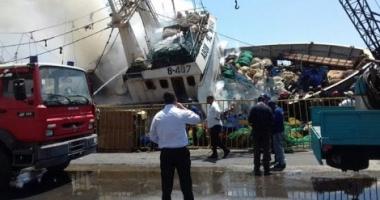 Un trauler s-a răsturnat din cauza intervenţiei pompierilor