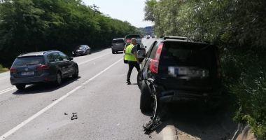 Accident rutier între Agigea şi Eforie! Două victime, după ce un şofer a întors peste linia dublă