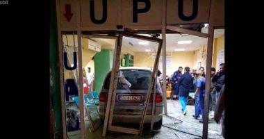 Bărbatul care a intrat cu maşina în UPU a Spitalului Judeţean, pus sub control judiciar
