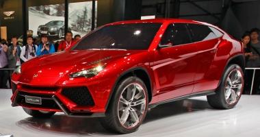 SUV-ul Urus al Lamborghini va fi prezentat in decembrie