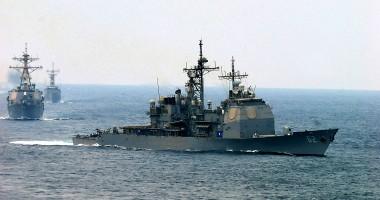 SUA au mobilizat nave pentru supravegherea tirului rachetei nord-coreene