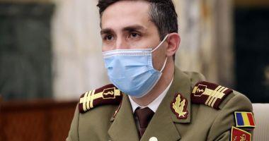 Valeriu Gheorghiţă: Mâine va fi vaccinată persoana cu numărul 1.000.000