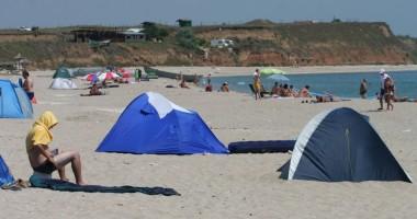 Cort furat de pe plajă,  recuperat de jandarmi în doar 10 minute