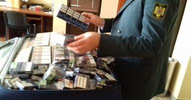 Vameșii au prins un contrabandist cu 14.980 de țigări