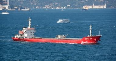 Un vas-cargo s-a scufundat. Douăsprezece persoane au fost rănite