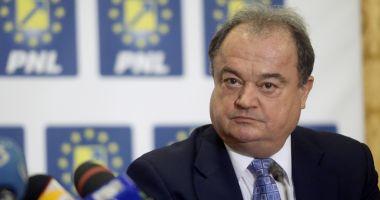 Vasile Blaga, de acord  cu reunificarea dreptei  pe scena politică