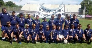 Victoria Cumpăna, finalistă în etapa a doua a Circuitului Naţional de mini-rugby