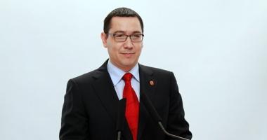 Victor Ponta, eliberat din funcţia de secretar general al Guvernului