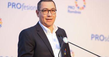Victor Ponta a anunțat că Pro România va vota moțiunea de cenzură