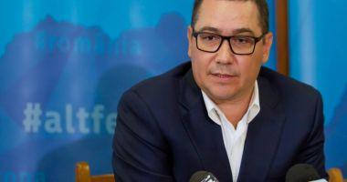 """Victor Ponta: """"Coșmarul politic al lui Dragnea este Pro România"""""""
