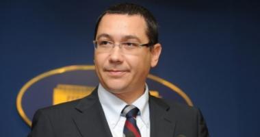 Ponta: Marii câştigători ai moţiunii de cenzură, dacă va trece, vor fi preşedintele Iohannis şi UDMR