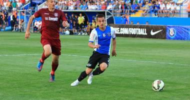 Fotbal: FC Viitorul, înfrângere cu Pandurii Tg. Jiu, scor 0-1