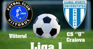 FC Viitorul a învins echipa Universitatea Craiova