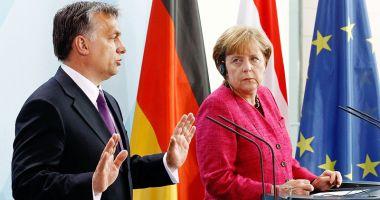 Premierul Ungariei, Viktor Orban, întâlnire cu Angela Merkel