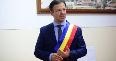 """Primarul Viorel Ionescu, de la Hârșova: """"Orașul nostru continuă să se dezvolte"""""""