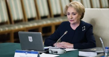 """Viorica Dăncilă: """"Alegerile prezidențiale vor avea loc pe 10 noiembrie"""""""